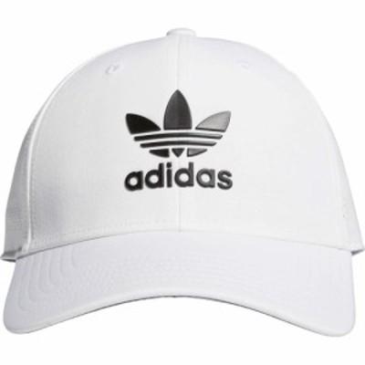 アディダス adidas Originals メンズ キャップ スナップバック 帽子 Originals Beacon II Precurve Snapback White/Black
