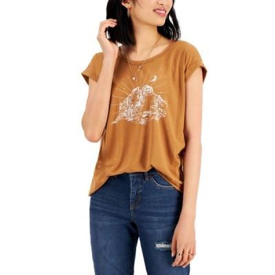 スタイルアンドコー レディース シャツ トップス Graphic-Print T-Shirt