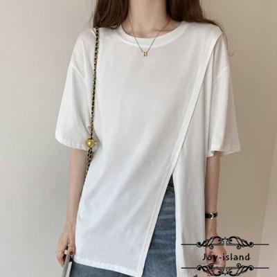 半袖 Tシャツ トップス カジュアル 格好良い レディース 服 上着 夏 オシャレ クルーネック 半袖Tシャツ ホワイト グレー ブラック