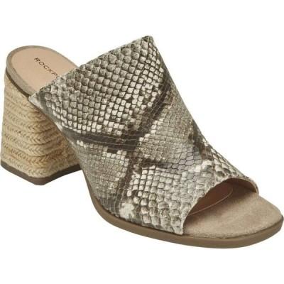 ロックポート Rockport レディース サンダル・ミュール シューズ・靴 Total Motion Amara Slide Tan Multi