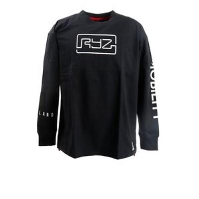 Tシャツ メンズ 長袖 CUT OFF 869R0CD3194 BLK