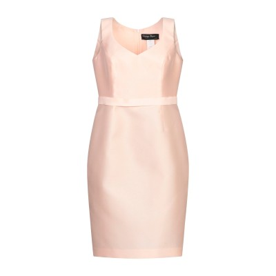 GIUSEPPE PAPINI ミニワンピース&ドレス ライトピンク 42 シルク 50% / ポリエステル 50% ミニワンピース&ドレス