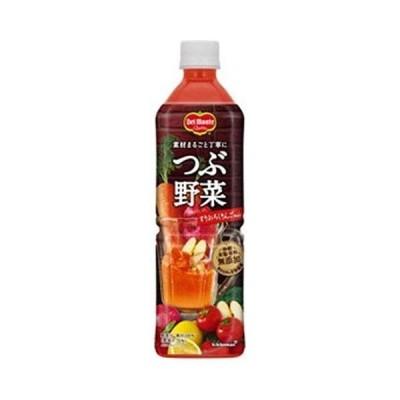 デルモンテ つぶ野菜 すりおろしりんごmix 900gペットボトル×12本入