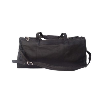 Piel Leather Traveler's Select Medium Duffel Bag, Black, One Size 並行輸入品