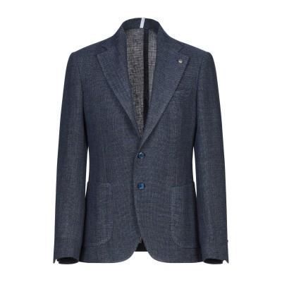 DOMENICO TAGLIENTE テーラードジャケット ブルー 48 麻 63% / コットン 37% テーラードジャケット