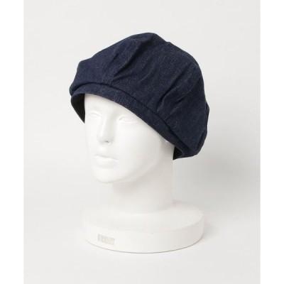 帽子 【JABURO】ヘリンボーンベレー帽