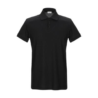 SAINT LAURENT ポロシャツ ブラック XS コットン 100% ポロシャツ