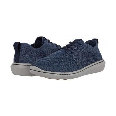 Clarks クラークス メンズ 男性用 シューズ 靴 スニーカー 運動靴 Step Urban Mix - Dark Blue Combi