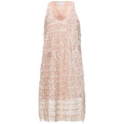 カオス KAOS ミニワンピース&ドレス ローズピンク 40 ポリエステル 100% ミニワンピース&ドレス