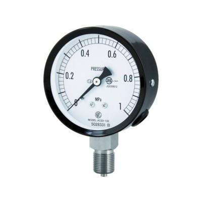 普通形圧力計(A枠立形・φ75・G3/8B・0.0〜0.10Mpa) 長野 AC201330.1MP-5151