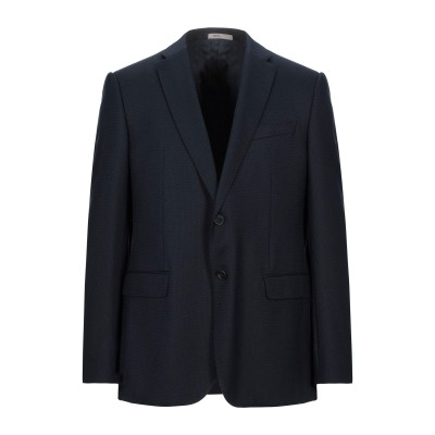 アルマーニ コレッツィオーニ ARMANI COLLEZIONI テーラードジャケット ダークブルー 54 レーヨン 55% / ウール 27% /