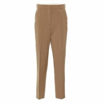 ヌメロ ヴェントゥーノ N21 レディース ボトムス・パンツ High-rise straight wool pants Pale Brown