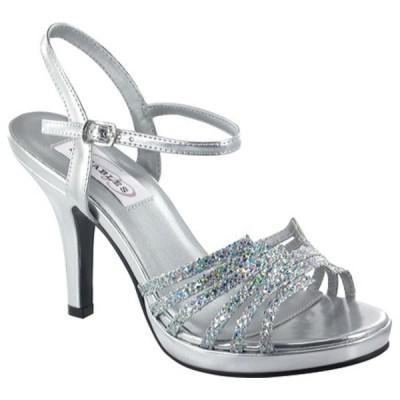 ダイエイブルズ スニーカー シューズ レディース Leah (Women's) Silver Glitter