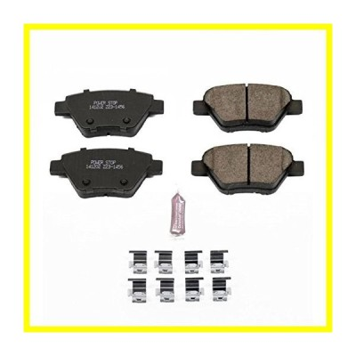 送料無料 Power Stop Z23-1456, Z23 Evolution Sport Carbon-Fiber Ceramic Rear Brake Pads 並行輸入品