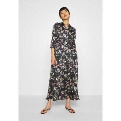 バナナ リバブリック ワンピース レディース トップス SAVANNAH SOFT - Maxi dress - black