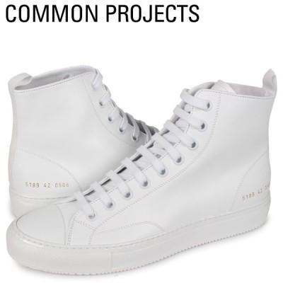 コモンプロジェクト Common Projects トーナメント ハイ スニーカー メンズ TOURNAMENT HIGH IN LEATHER ホワイト 白 5189-0506