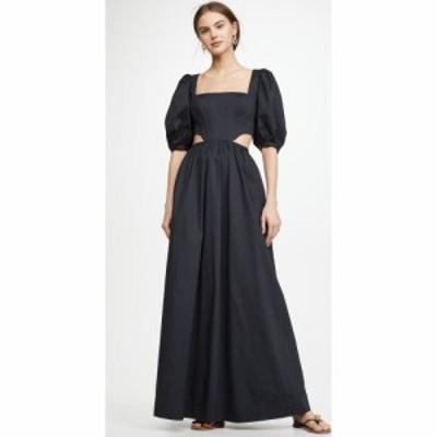 スタウド STAUD レディース ワンピース ワンピース・ドレス Astro Dress Black