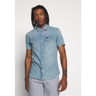 リー メンズ ファッション WESTERN - Shirt - frost blue
