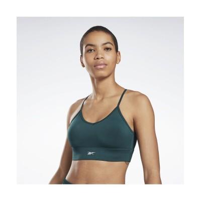 【リーボック】 ワークアウトレディ スポーツブラ / Workout Ready Sports Bra レディース グリーン XL Reebok