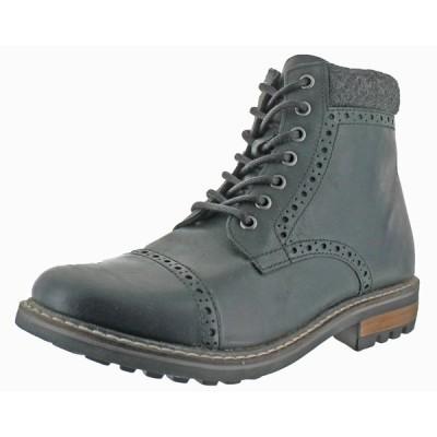 """ブーツ 海外直輸入ブランド Crevo Quebec Men's 6"""" Leather Winter Boots"""