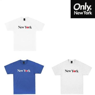 ONLY NY NEWYORK LOVE TEE Tシャツ プリントT 半袖Tシャツ ONLY NY オンリーニューヨーク