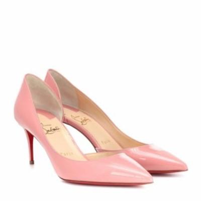 クリスチャン ルブタン Christian Louboutin レディース パンプス シューズ・靴 iriza 70 patent leather pumps Guimauve