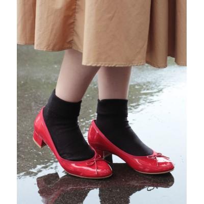Carlie e felice / 【MADE IN JAPAN】【安心の日本製・晴雨兼用】ラウンドトゥレインパンプス【Carlie e felice/カーリーエフェリーチェ】 WOMEN シューズ > パンプス