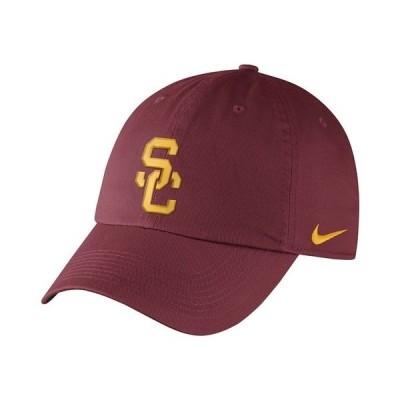 ナイキ 帽子 アクセサリー メンズ USC Trojans Core Easy Adjustable Strapback Cap Crimson