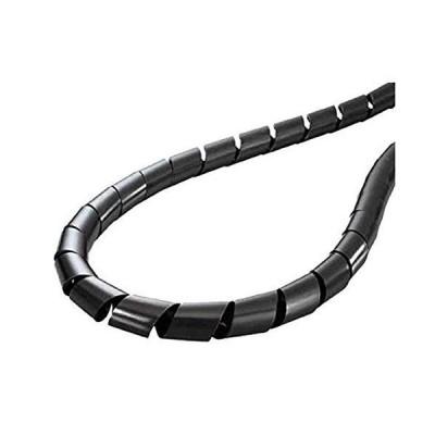 ヘラマンタイトン 電線結束・保護用 スパイラルチューブ 耐候 黒色 20m TS-25-W