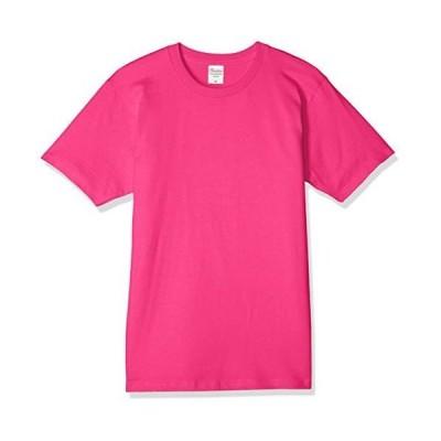 プリントスター 半袖 5.0オンス ベーシック Tシャツ ホットピンク 日本 S (-)