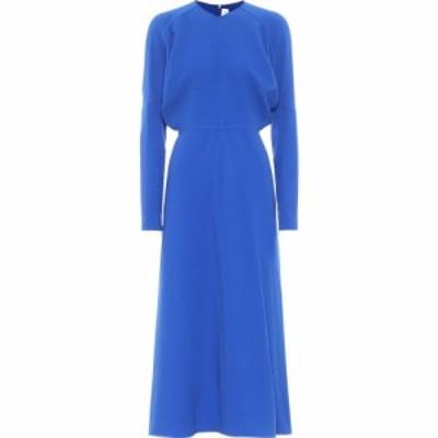 ヴィクトリア ベッカム Victoria Beckham レディース ワンピース ミドル丈 ワンピース・ドレス Midi Dress Bright Blue