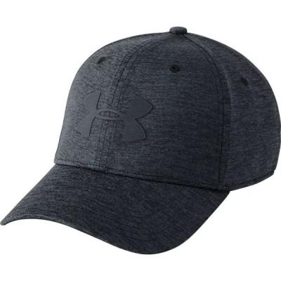 アンダーアーマー Under Armour メンズ 帽子 Armour Twist Hat 2.0 Black/Stealth Gray