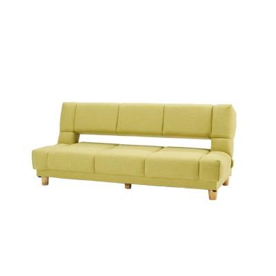 寝心地が良いソファーベッド[一部ボンネルコイル使用 背もたれリクライニング】