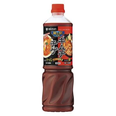 ミツカン 業務用 鍋つゆ 麺&鍋大陸 キムチチゲスープの素 1本
