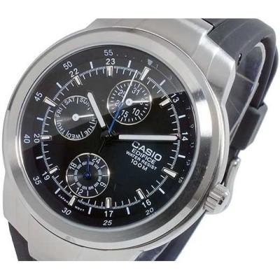 カシオ CASIO エディフィス EDIFICE クオーツ メンズ 腕時計 EF-305-1A ブラック