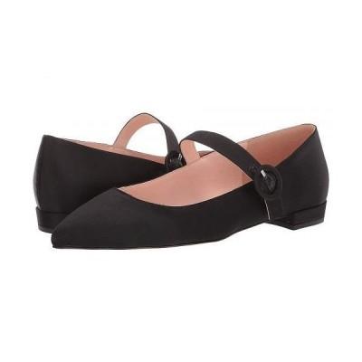 J.Crew レディース 女性用 シューズ 靴 フラット Satin Buckle Mary Jane Harlech - Black