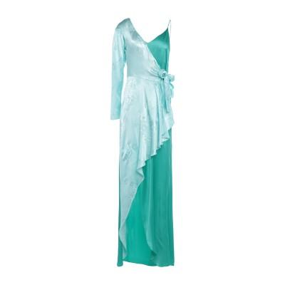 ピンコ PINKO ミニワンピース&ドレス グリーン 40 アセテート 75% / シルク 25% ミニワンピース&ドレス