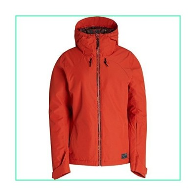 Billabong Junior's Terra Snow Jacket, Ketchup, M並行輸入品