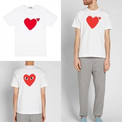 コムデギャルソン Tシャツ フロントバックハート プレイ PLAY COMME des GARCON 取り寄せ