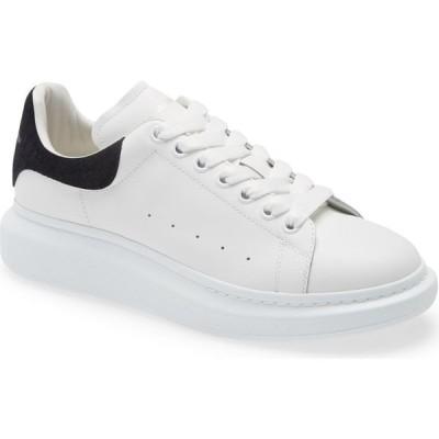 アレキサンダー マックイーン ALEXANDER MCQUEEN メンズ スニーカー シューズ・靴 Oversize Sneaker White/Black