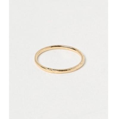 指輪 K10YG クラフト ピンキーリング