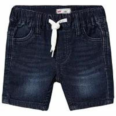 Levis キッズパンツ Levis Blue Dark Wash Jog Denim Pull Up Short