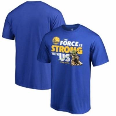 Fanatics Branded ファナティクス ブランド スポーツ用品  Fanatics Branded Golden State Warriors Royal Star Wars Jedi Strong T-Shir