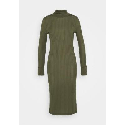 ヴェロモーダ ワンピース レディース トップス VMVILJA DRESS - Shift dress - ivy green