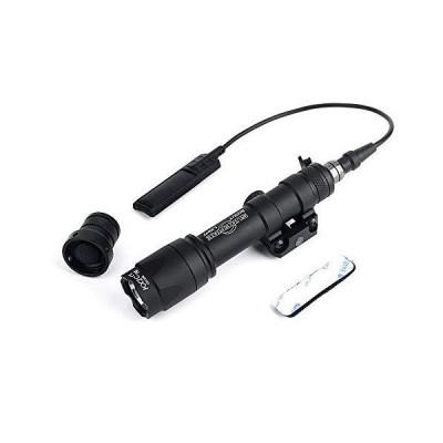 M600C タイプレプリカ フラッシュライト 340ルーメン 高輝度LED リモート&プッシュスイッチ付