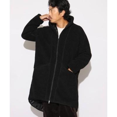 ジャケット ブルゾン V-HOODY A-LINE COAT Aラインコート