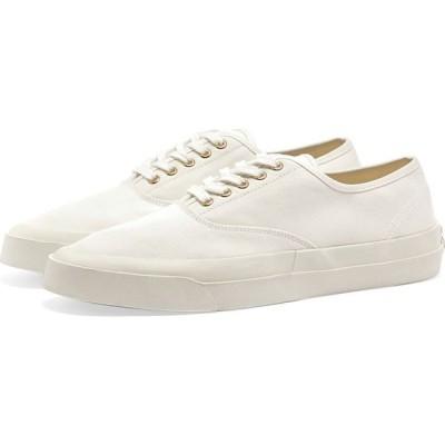 メゾン キツネ Maison Kitsune メンズ スニーカー シューズ・靴 Canvas Laced Sneaker White