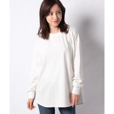 【テチチ】【Techichi TERRASSE】ラウンドヘムロングTシャツ