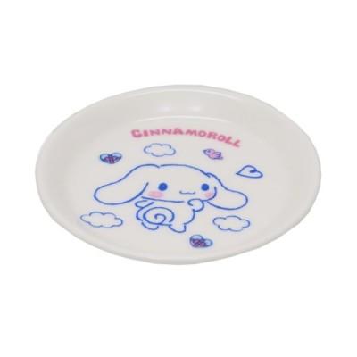 シナモロール 小皿 ミニプレート ふわくも サンリオ 金正陶器 日本製 ギフト雑貨