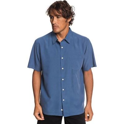 クイックシルバー シャツ メンズ トップス Quiksilver Men's Cane Island Shirt Parisian Night